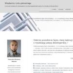 lokaloddewelopera.pl - nowy blog